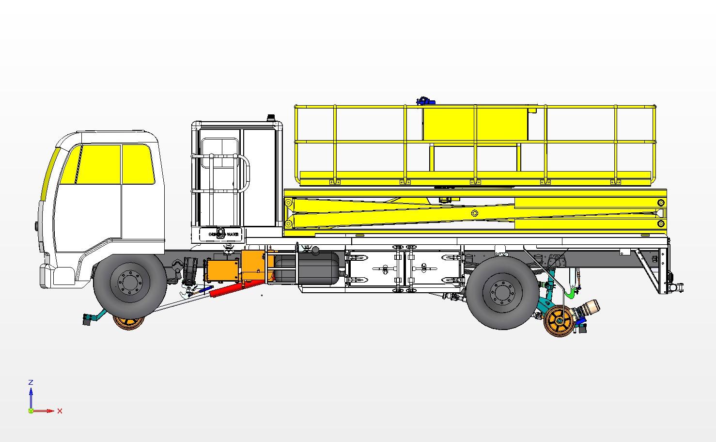 News Railpro Rrvs Train Diesel Engine Diagram Receives Order To Commission Scissor Lift Aerial Platform Rrv